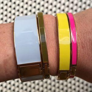 J. Crew Enamel Bangle Bracelets